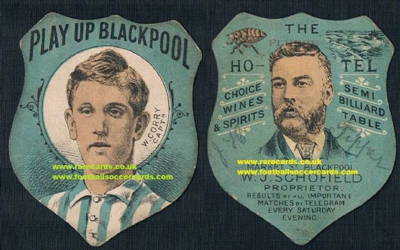 1895 Baines Fleece Blackpool W.Corry